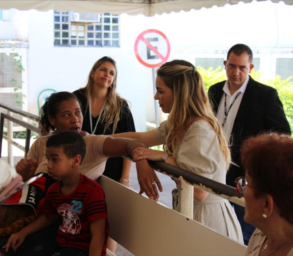 Deputada relata insegurança e precariedade no Hospital de Brazlândia