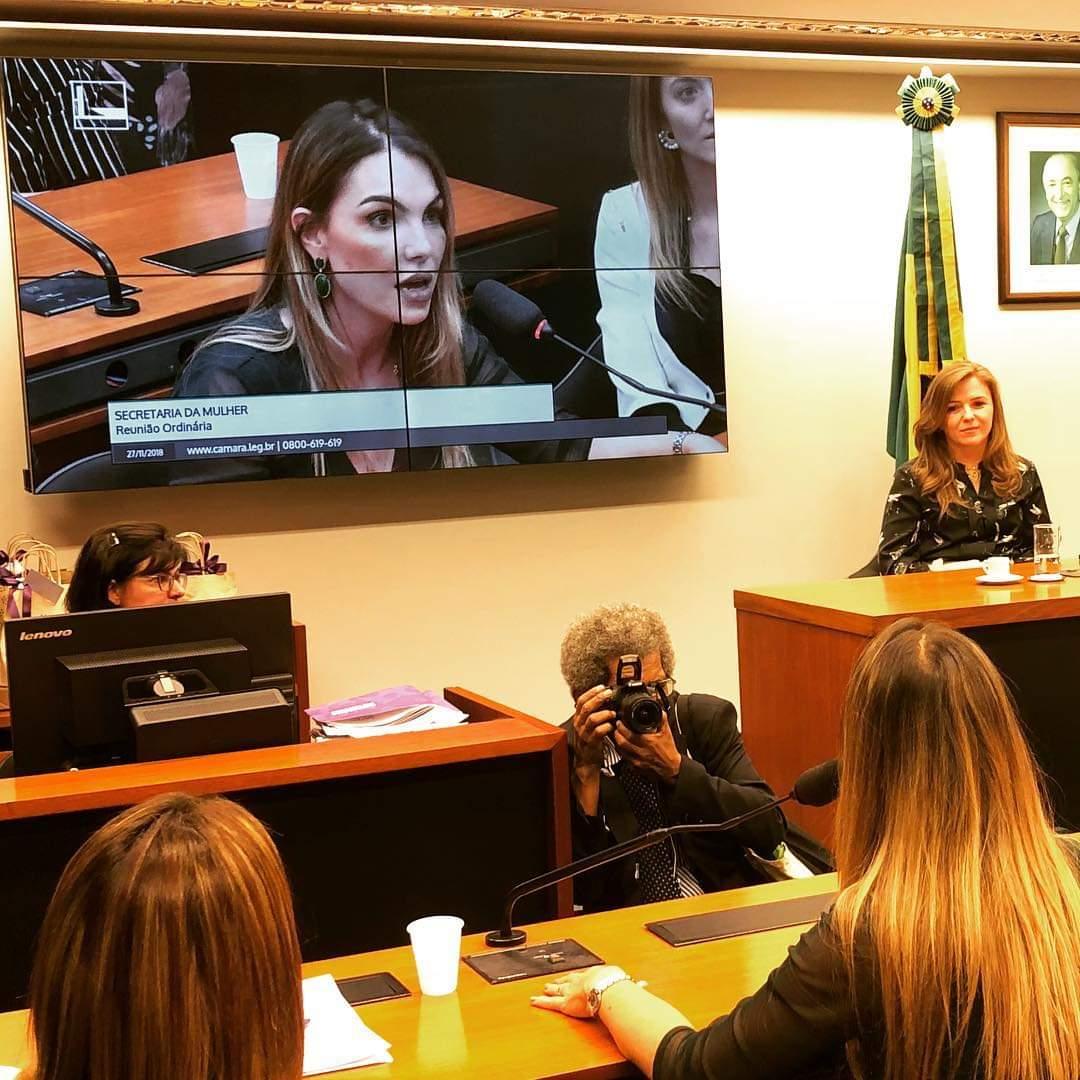 Paula Belmonte será titular da Comissão de Educação
