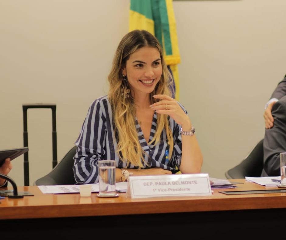 Paula Belmonte é a melhor do Brasil