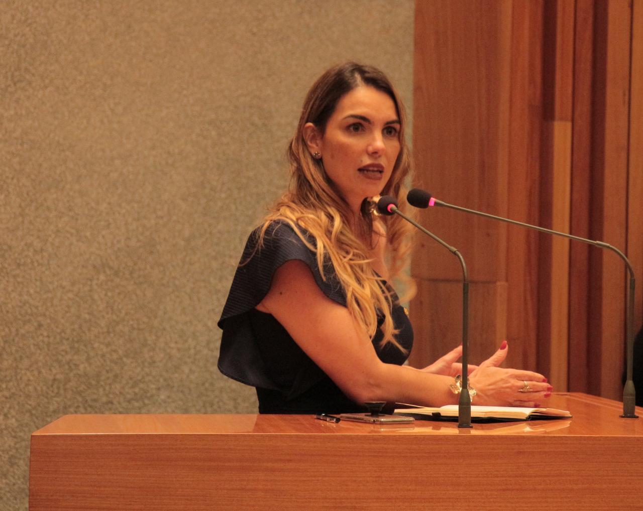 Paula Belmonte defende na Câmara a prisão em 2ª instância