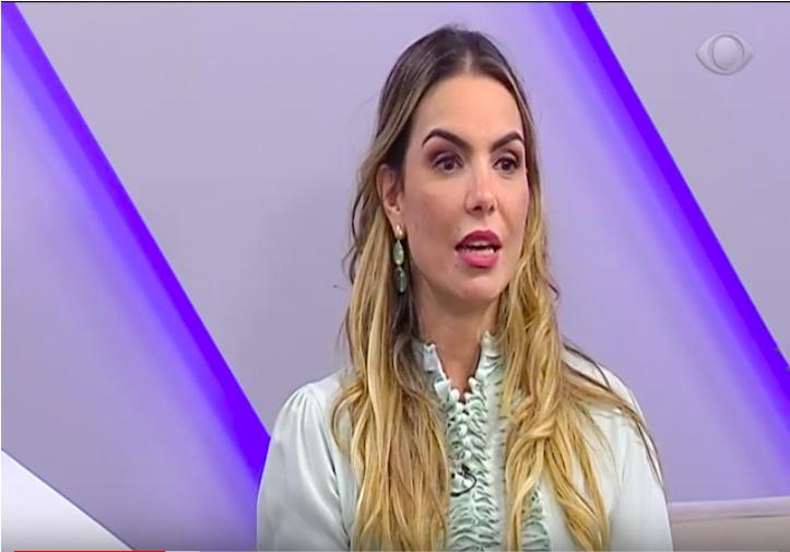 Paula Belmonte fala sobre o seu mandato em programa de TV
