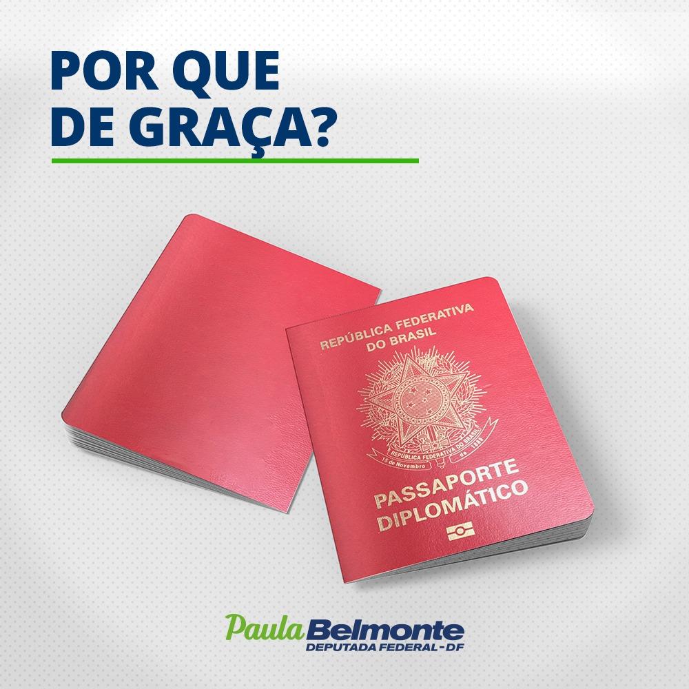 Paula Belmonte critica gratuidade de passaportes diplomáticos para parlamentares