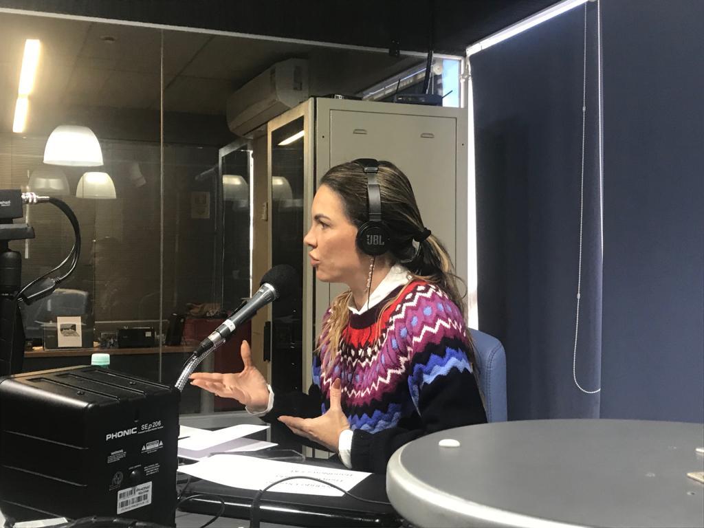 Rádio Band News entrevista Paula Belmonte