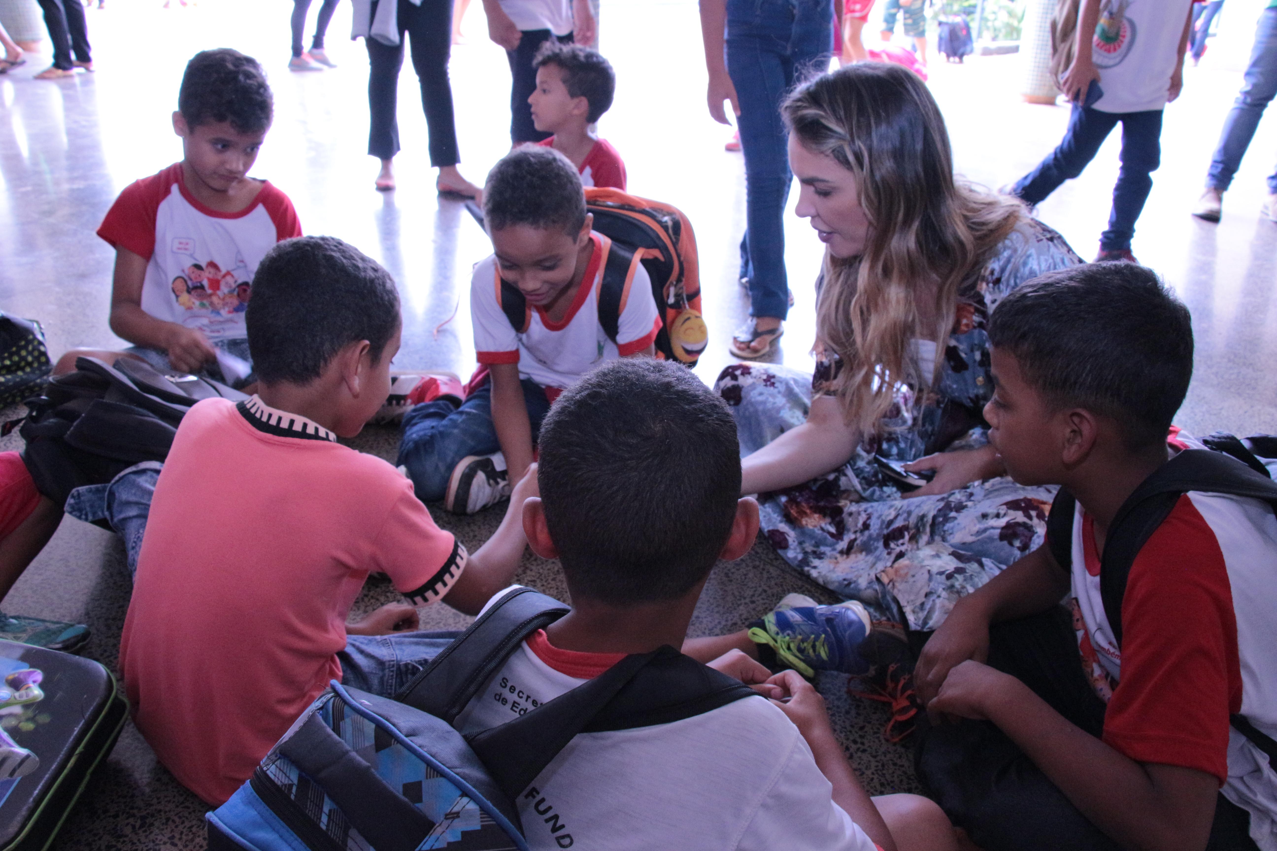 Paula Belmonte propõe pré-escola integral para todas as crianças