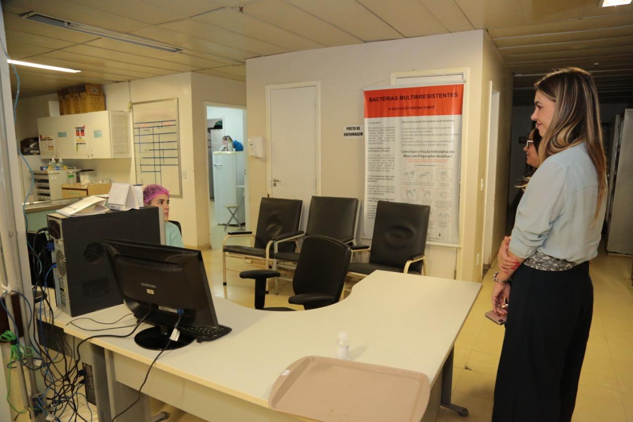 Paula Belmonte cobra estrutura e mais profissionais no HRAN