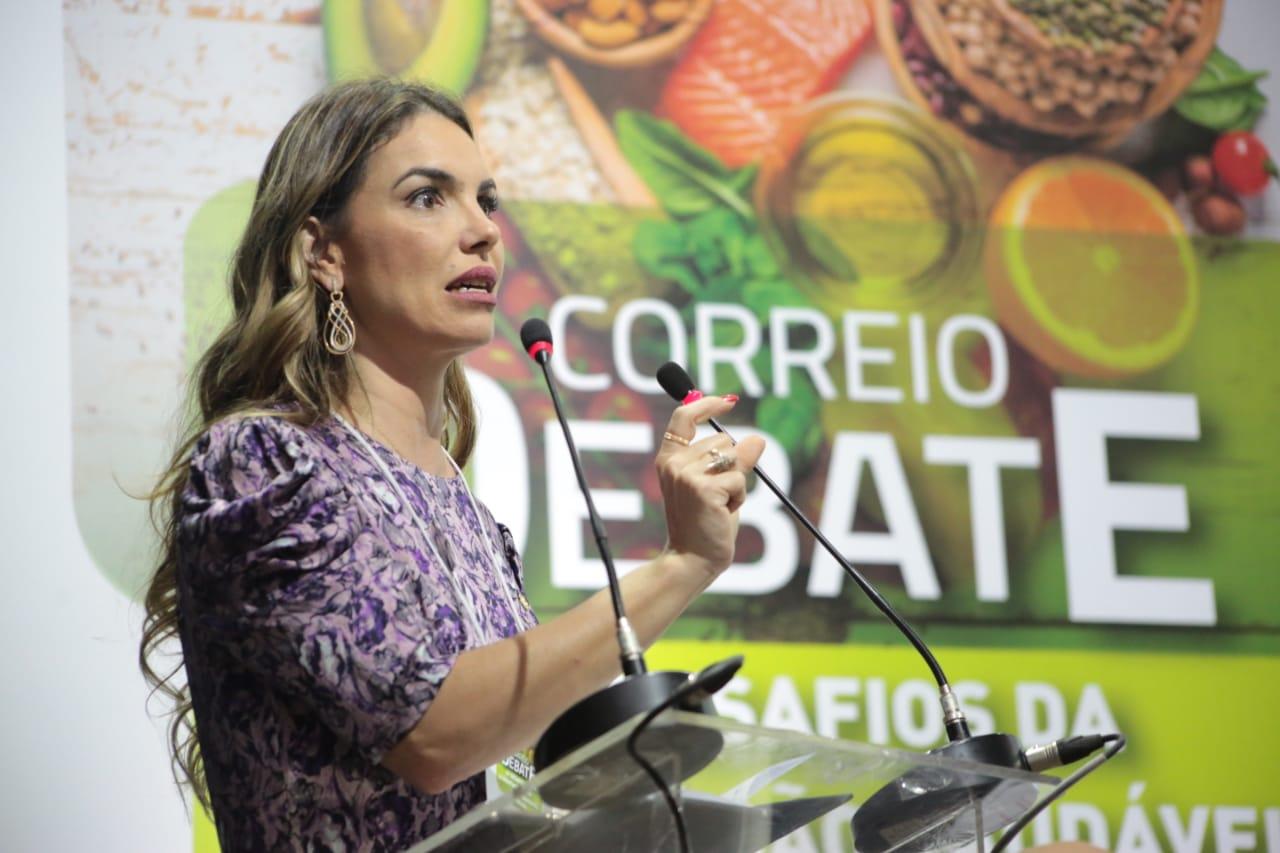 """Paula Belmonte: """"alimentação é questão de saúde e economia"""""""