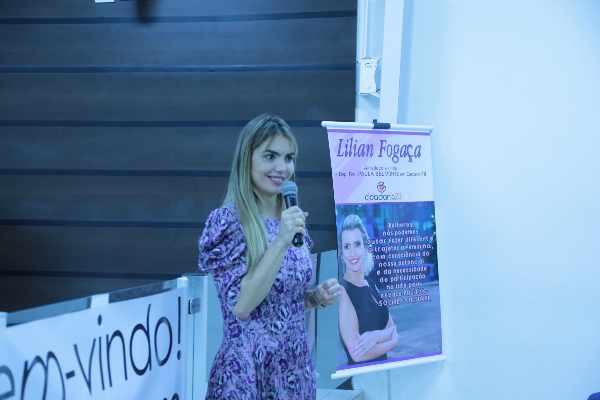 Paula Belmonte participa de encontro do Cidadania no Paraná