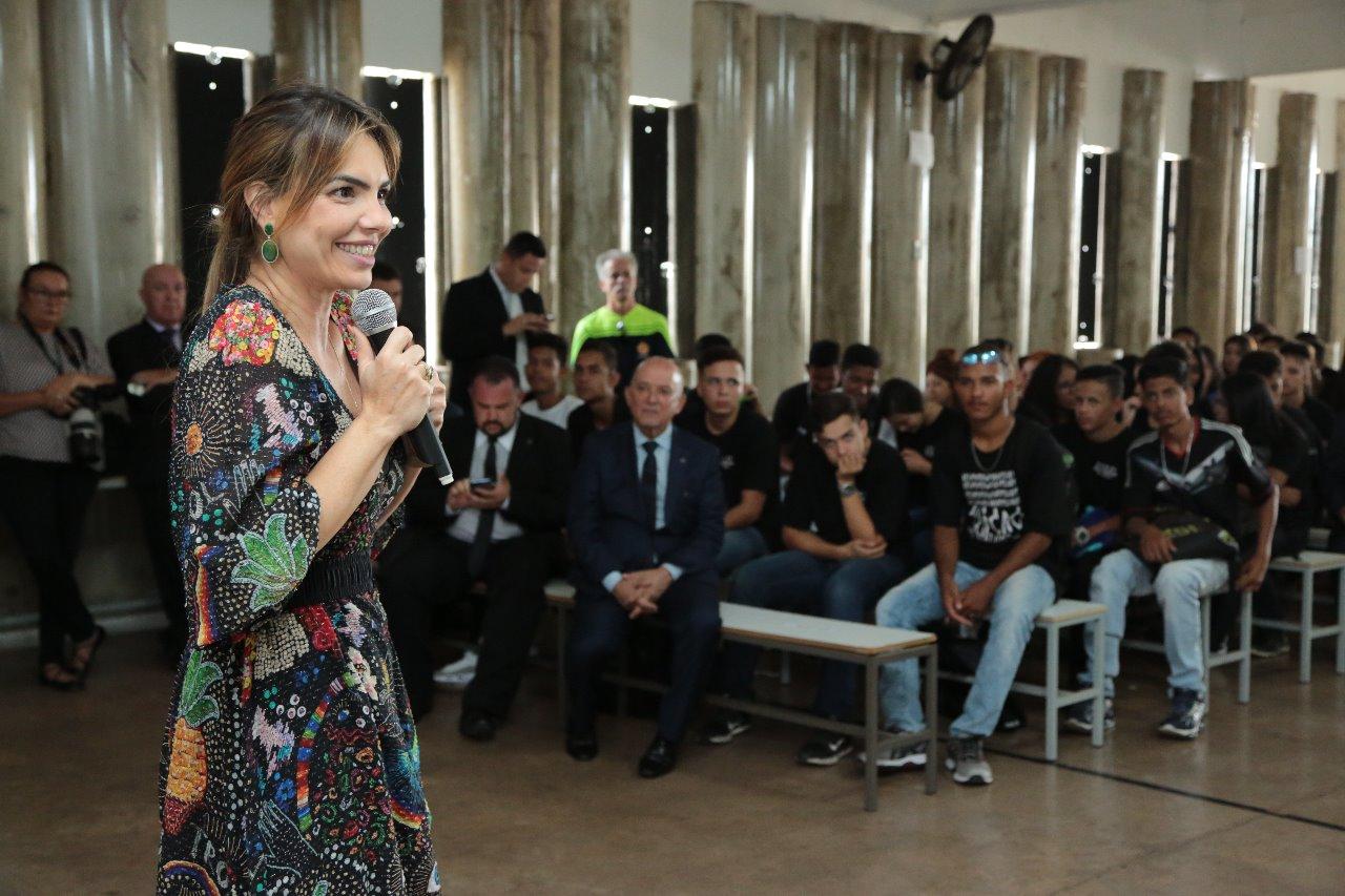 Paula Belmonte participa de Campanha de Prevenção ao Uso de Drogas