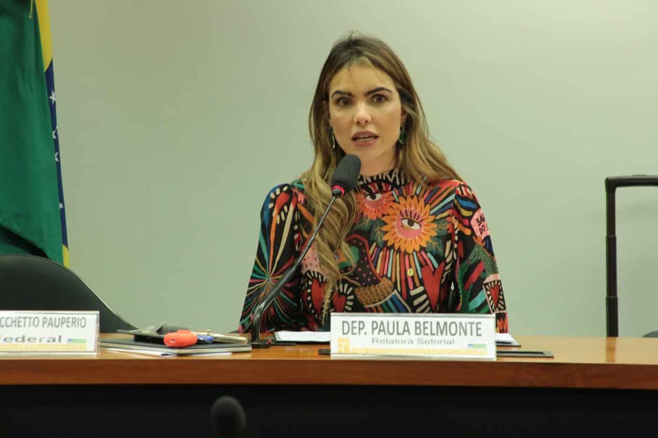 AO VIVO: Paula Belmonte participa de debate sobre o combate à pedofilia
