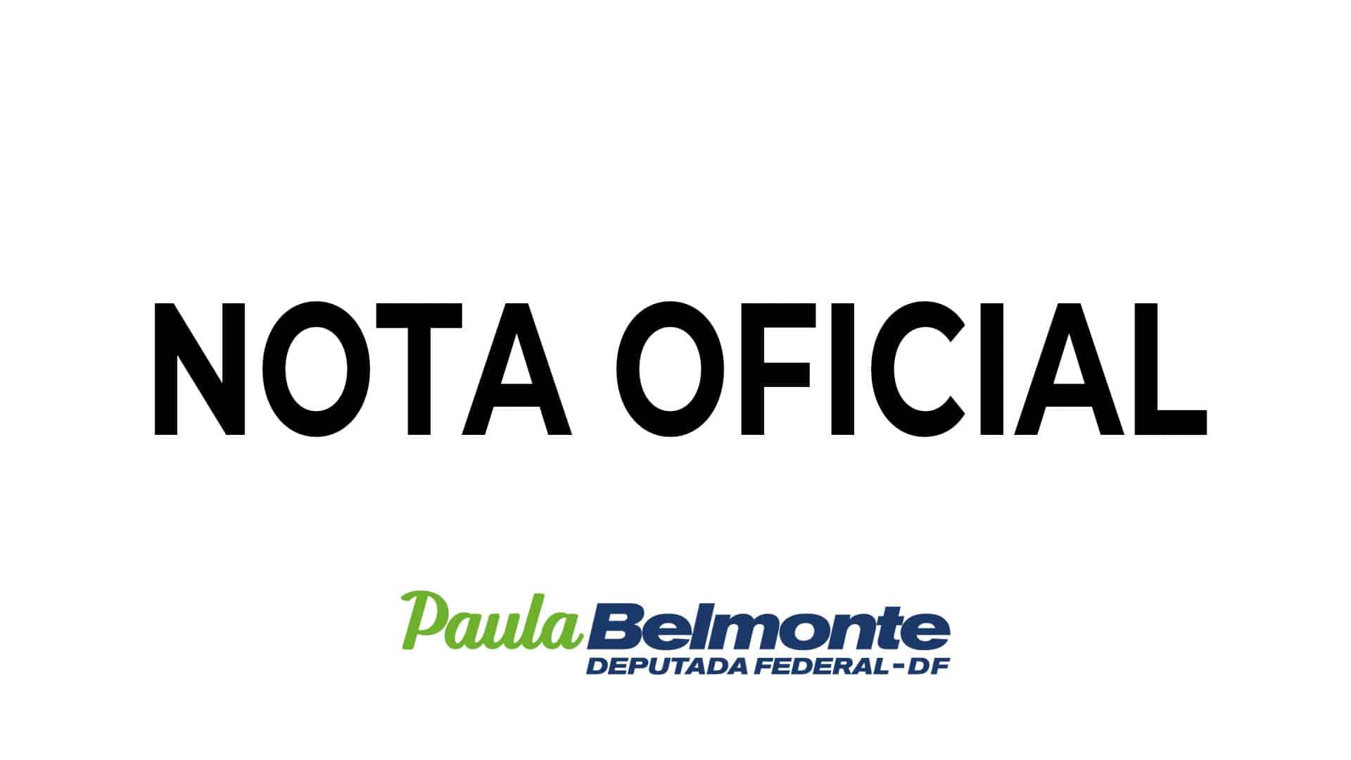 Equipe Paula Belmonte responde agressões sofridas pela deputada nas redes sociais