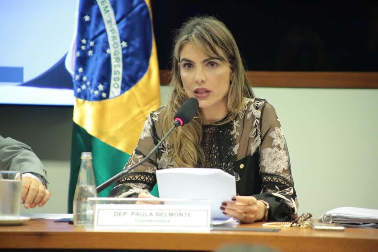 Paula Belmonte e procurador Roberto Livianu discutem medidas de combate à corrupção