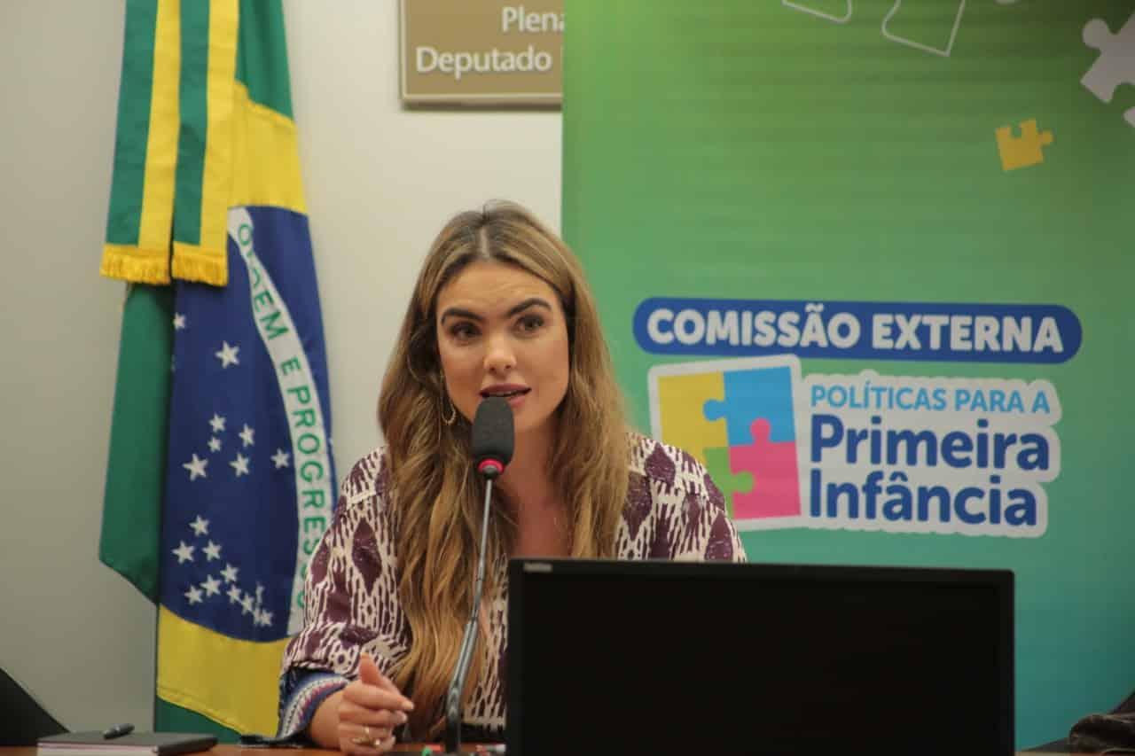 Paula Belmonte defende educação como atividade essencial em evento na Câmara