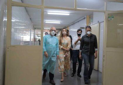 Parlamentares constatam problemas no Hospital de Ceilândia