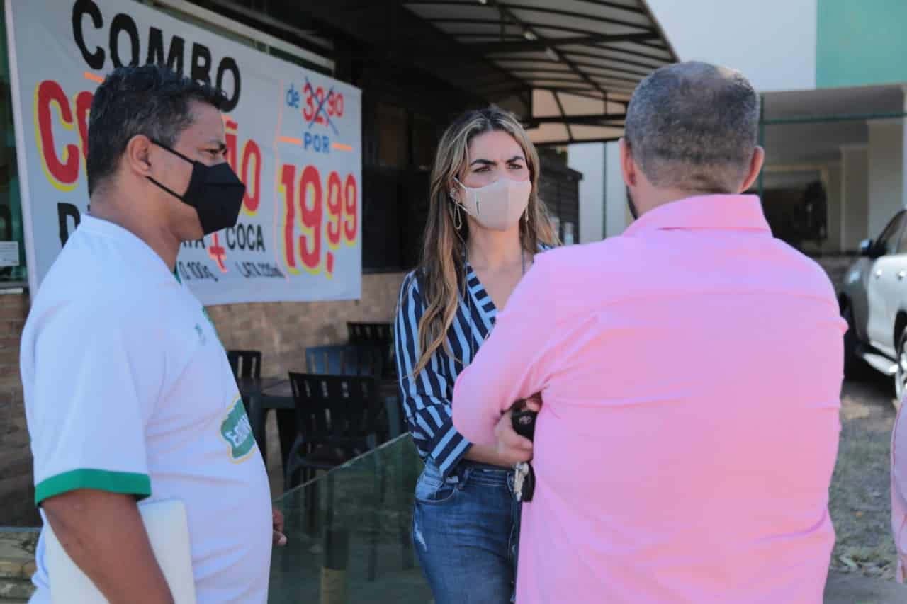 Paula Belmonte vai ao Gama prestar contas à população