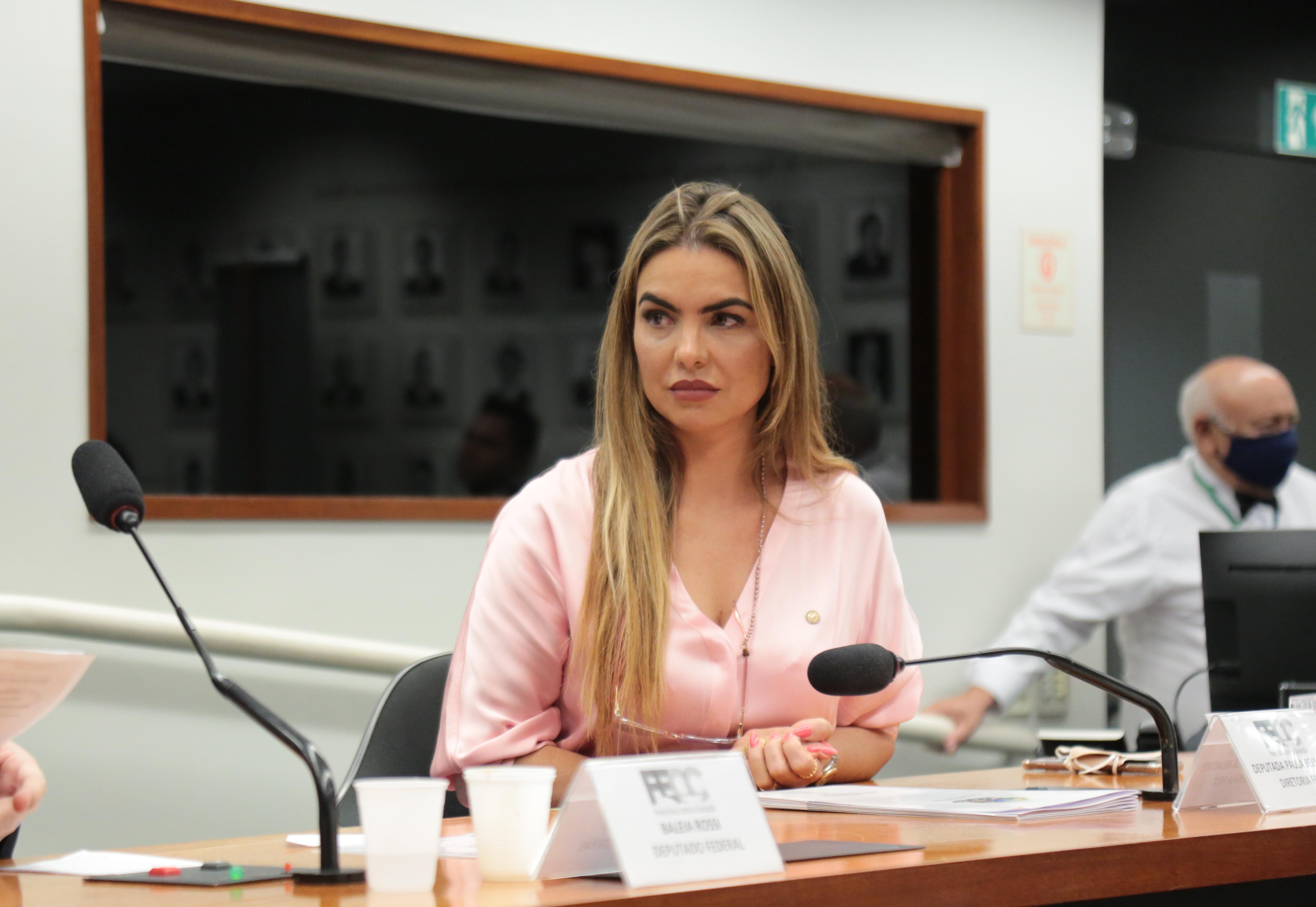 CCJ aprova parecer de Paula Belmonte sobre projeto que dá incentivos ao comércio