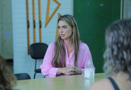 Paula Belmonte presta contas à comunidade de Ceilândia