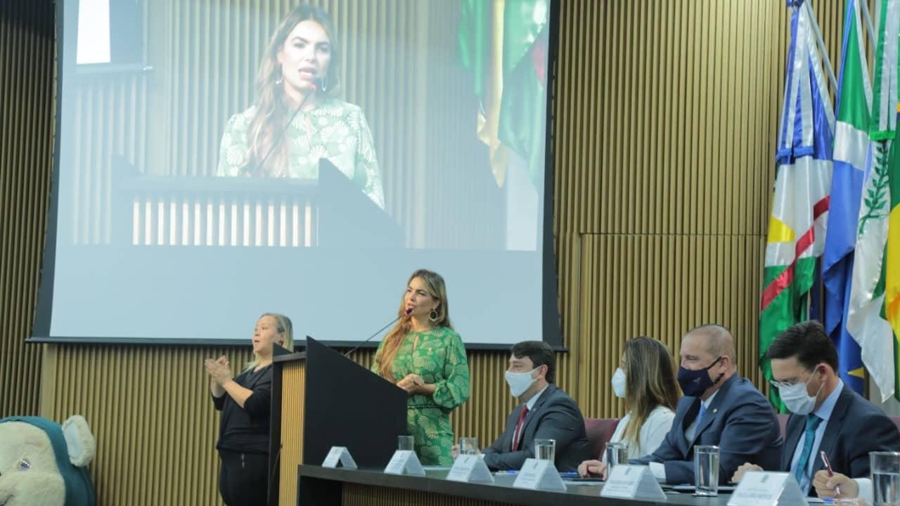 """Paula Belmonte participa de abertura da campanha """"Agosto: mês da primeira infância"""" do Ministério da Cidadania"""