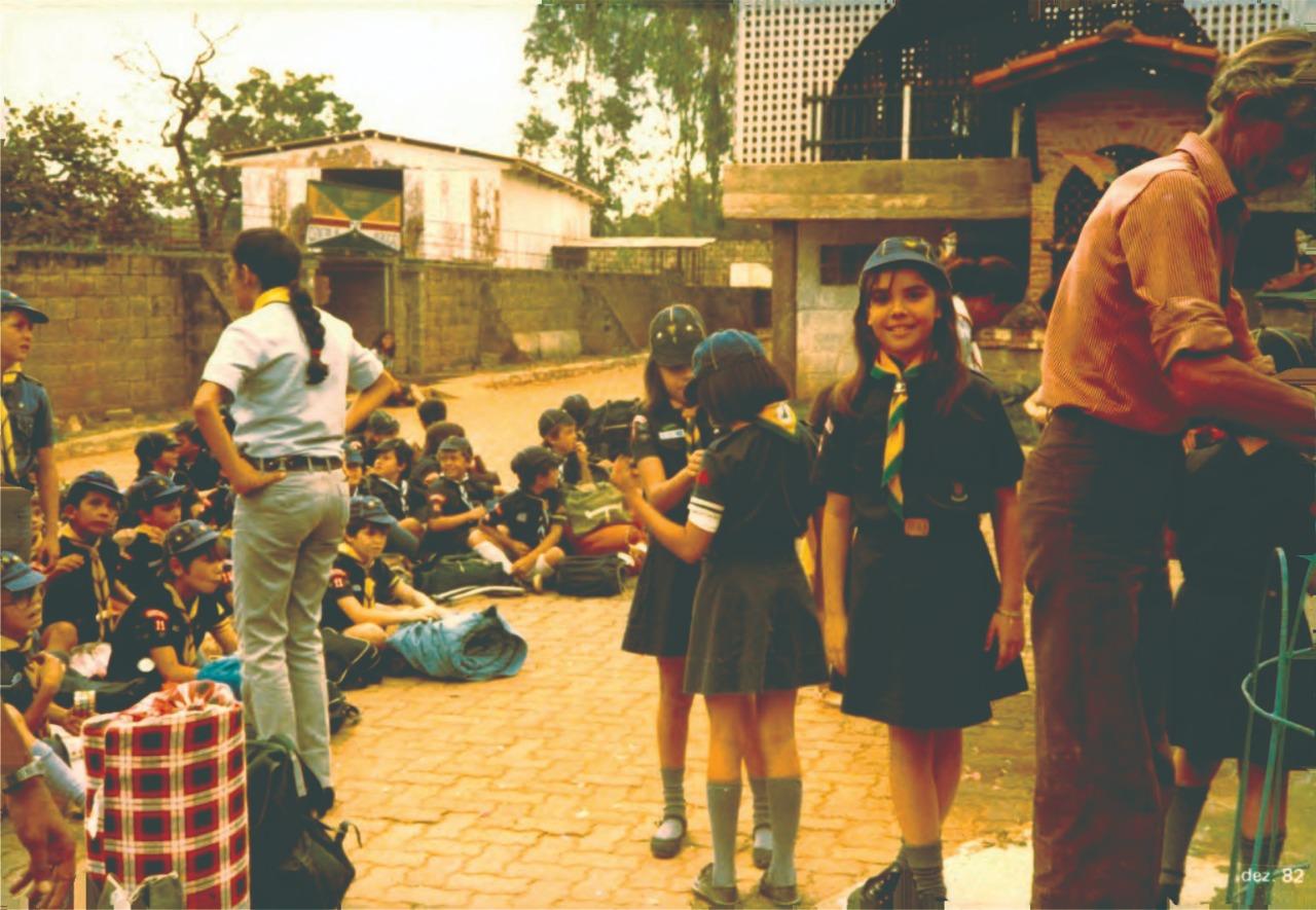 No Dia Mundial do Escoteiro, Paula Belmonte homenageia movimento do qual fez parte