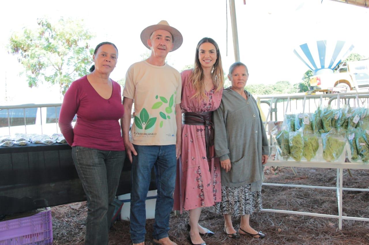 Paula Belmonte visita Paranoá
