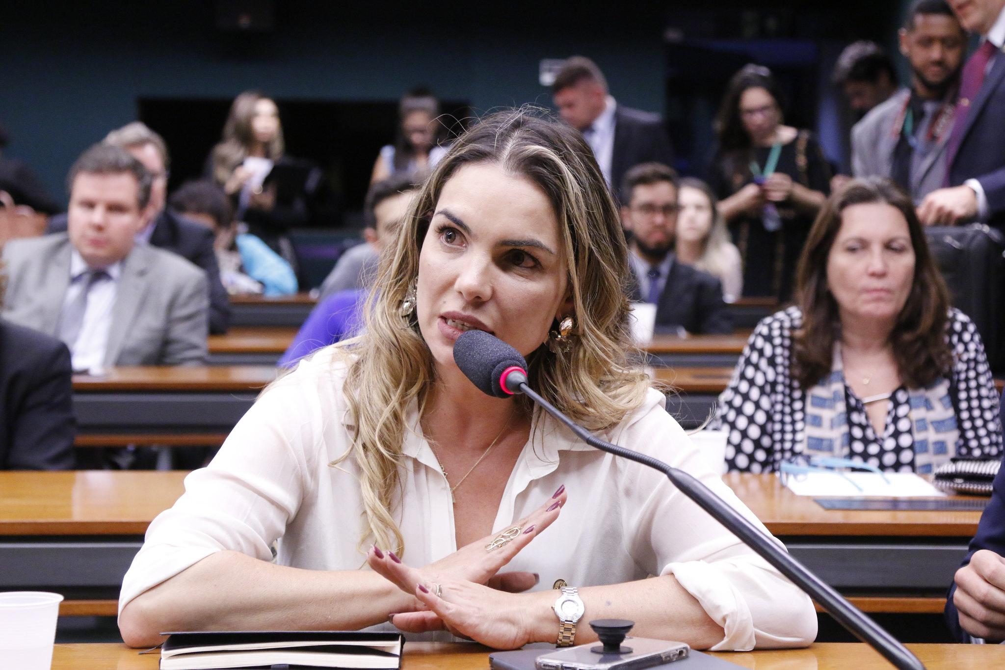 Com discurso coerente, Paula Belmonte continua favorável à reforma da Previdência