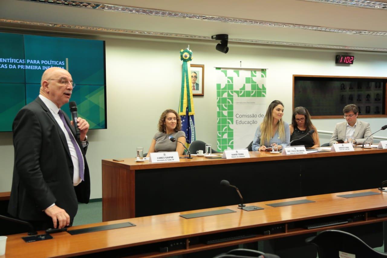 Câmara debate convergência das políticas públicas para primeira infância
