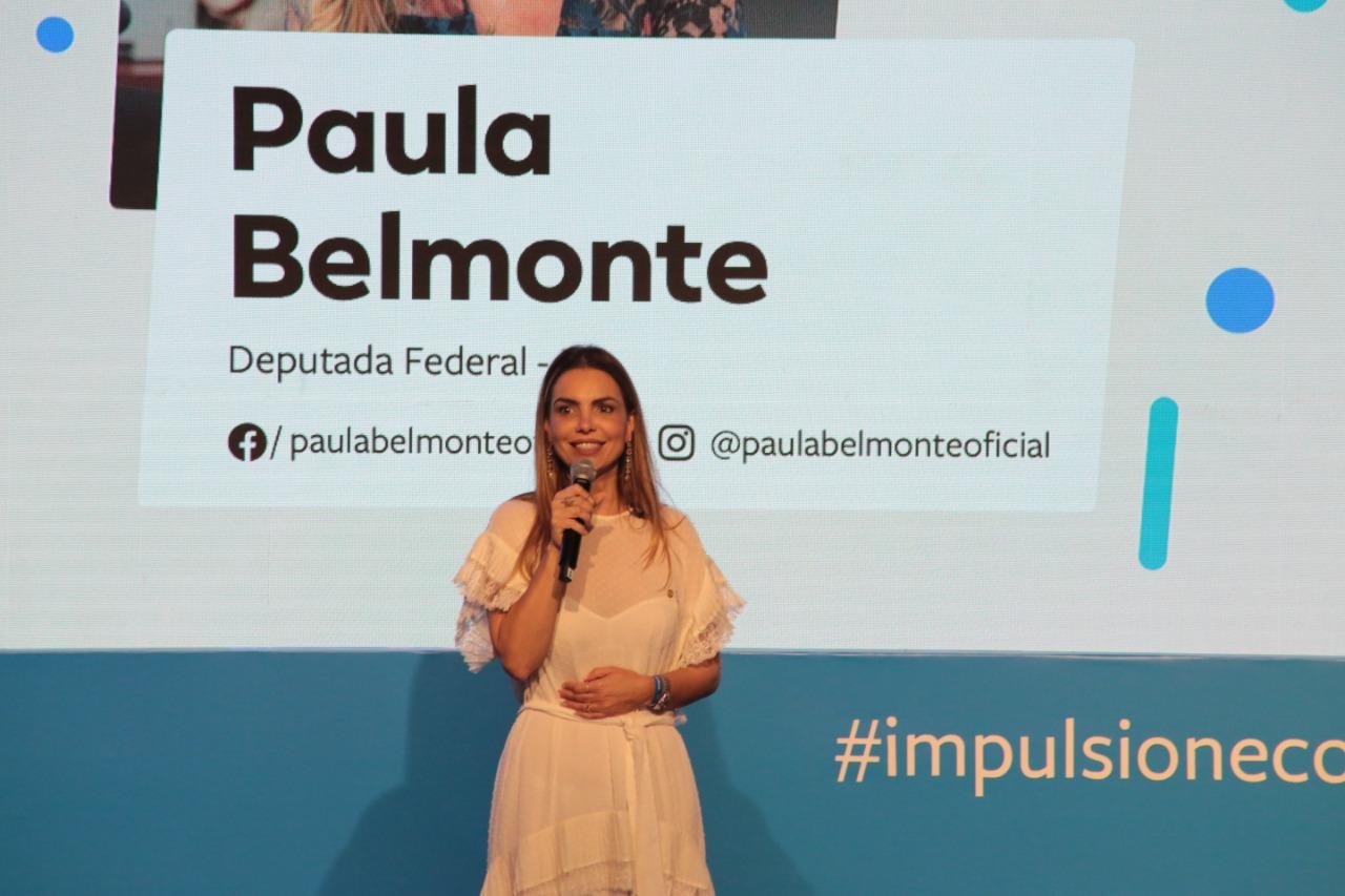 Paula Belmonte defende Liberdade Econômica, em evento no DF