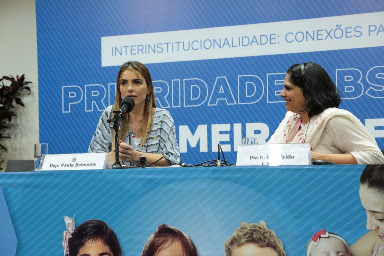 Frente Parlamentar realiza Seminário Internacional do Marco Legal da Primeira Infância