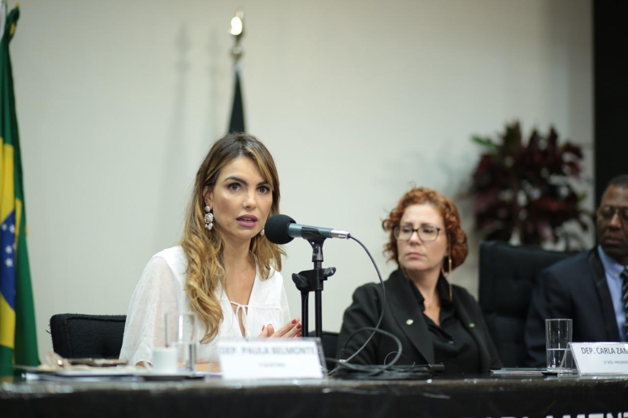 Paula Belmonte defende pena mais dura para condenados por pedofilia