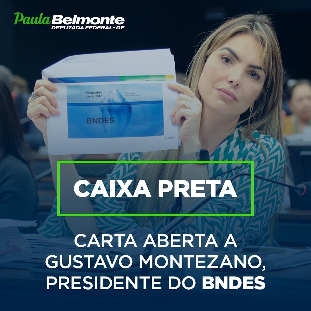 Carta aberta ao presidente do BNDES Gustavo Montezano