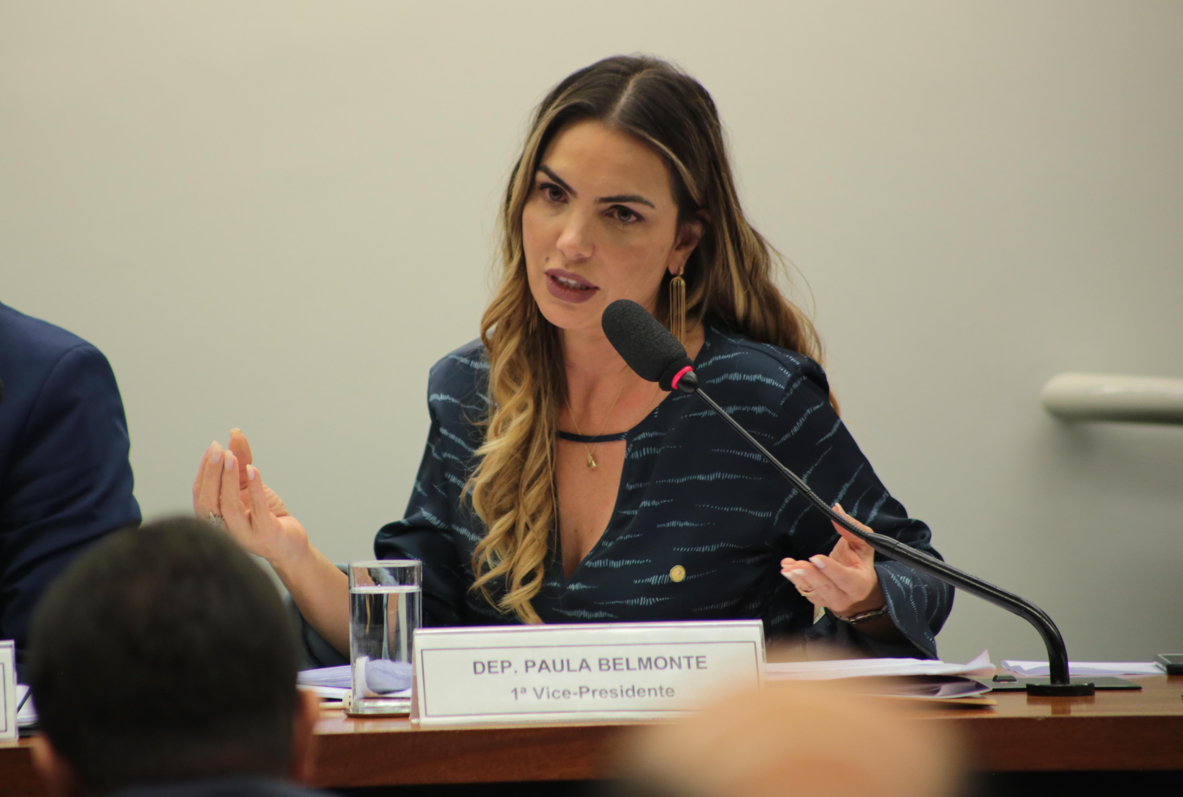 Paula Belmonte defende transparência na Reforma Tributária