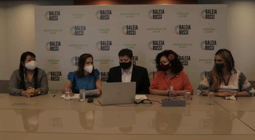 Bancada Feminina entrega Carta Compromisso aos candidatos à Presidência da Câmara dos Deputados