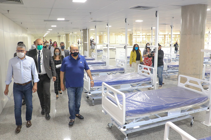Ministério Público apura irregularidades em hospitais de campanha do DF
