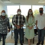 Paula Belmonte fala sobre reformas com presidente do Sindfaz/DF